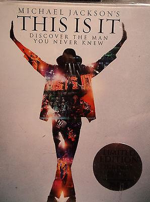 MICHAEL JACKSON This Is It Limited Edition USB Flash Drive 2GB Film 2009