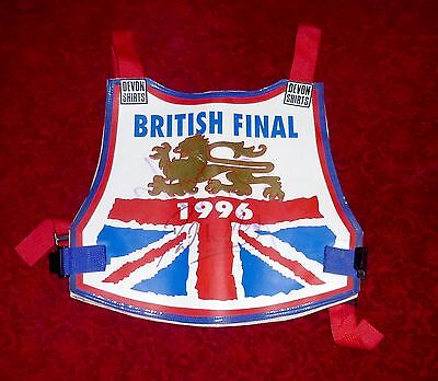 Skid Marks. .Original David Walsh British Final 1996 Race Jacket