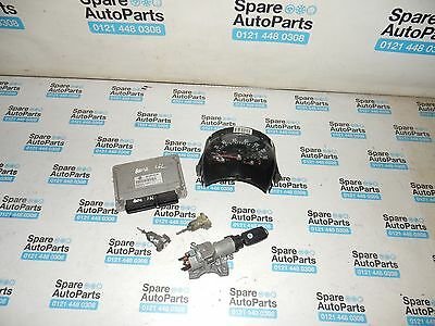 Vw New Beetle 1.6 Ignition Key And Lock Set With Speedo And Ecu