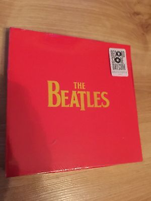 "THE BEATLES Self Titled 4 x 7"" Vinyl Singles Box Set 2012 RSD RECORD STORE DAY"