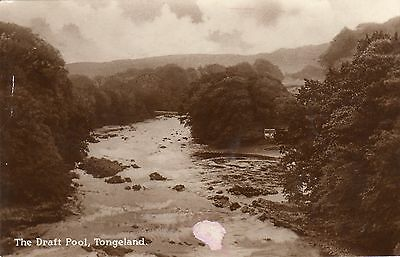 Vintage Postcard The Draft Pool Tongeland Kirkcudbright Rp