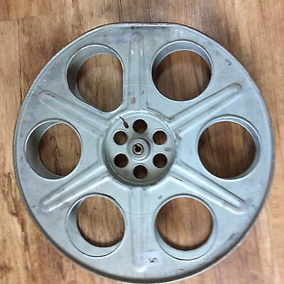 "Goldberg 35mm 14.5"" Antique/Vintage Metal Film Reel"