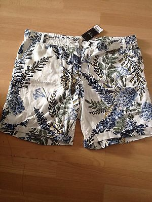 Linen Shorts From Next Bnwt Size 18