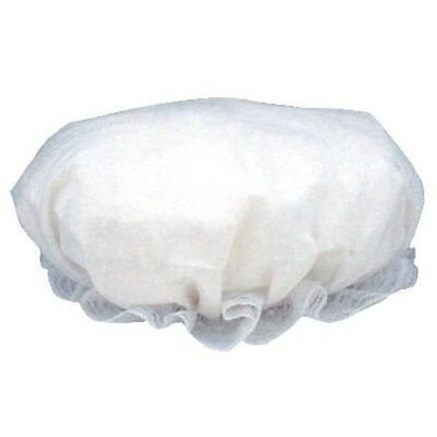 Colonial Mob Cap Costume Hat White with Lace Trim