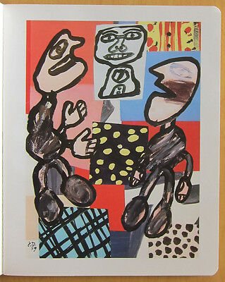 "Jean Dubuffet ""Brefs Exercises"" 1980 Pace Gallery Color Illustrations"