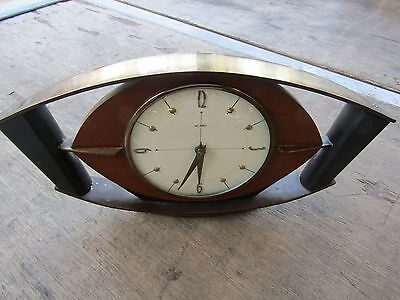Vintage Rare Art Deco Metamec Mantel Clock