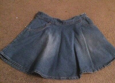 girls next denim skirt Size 5