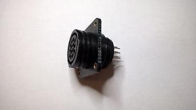 ZME389 Tyco 213729-2 Circular Plastic Connector 14Pos Receptacle 17-14 w/Insert