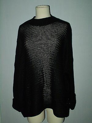 Pull Large A Grosses Mailles Noisy May Neuf Avec Etiquette Taille M
