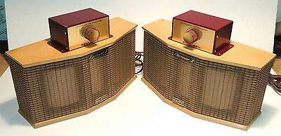 One Pair Realistic Electrostat 3 Tweeters With Crossovers For AR1, AR2, AR3 Spks