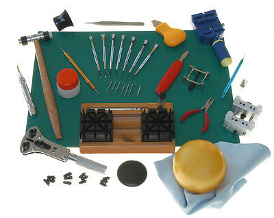 29 Piece Comprehensive Tool Kit for Watchmakers Awesome