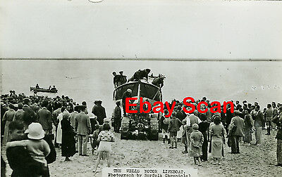 North Norfolk RP Postcard - Wells next the Sea - Lifeboat on Launching Carriage