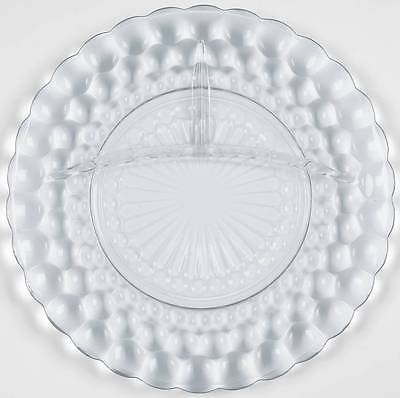 Anchor Hocking BUBBLE BLUE Grill Plate 5648