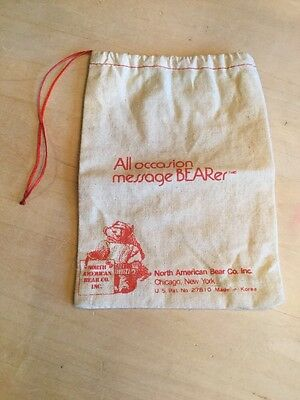 Vintage North American Near Co. Message Bearer Bag