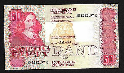 South Africa 50 Rand 1973, P#- 122, banknote.