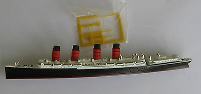 1/1250 scale metal model of Cunard Liner Lusitania by Mercator