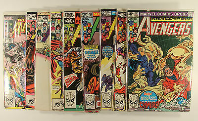 Marvel comics collection The Avengers job lot Spider-Man x43 No 203 up cents