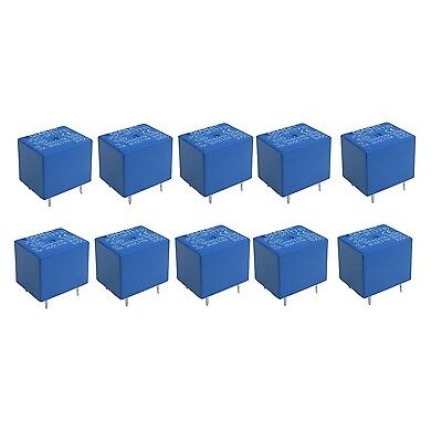 uxcell 10 x DC 3V Coil 5 Pins SPST Power Relay JQC-3F