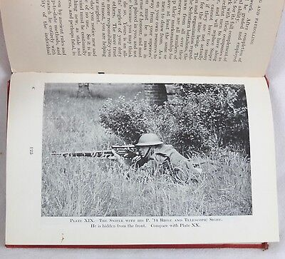 Ww1 Ww2 British Army Sniping Manual Sniper Lee Enfield Rifle Shooting Smle 1940