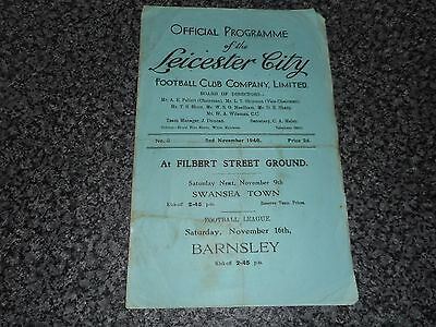 LEICESTER CITY  v  SOUTHAMPTON  1946/7  ~ NOVEMBER 2nd *****FREE POST*****