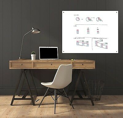 Delane Dry Erase White Board Surface Sheet, Large (36 X 48-Inches) NEW