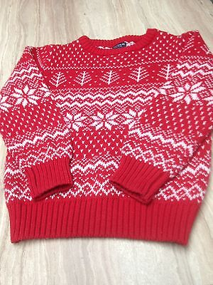 Child's Xmas Jumper  4/5yrs By NEXY HARDLY  WORN
