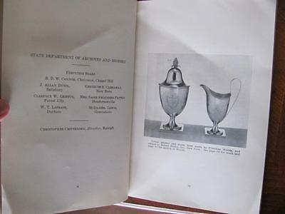 1948 1st Ed Silversmiths of NORTH CAROLINA Illustrated Book Silver Silverware