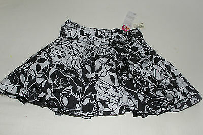 Nolita Pocket - Black and White Silk Cotton Flared Skirt - Age 8 Years - BNWT