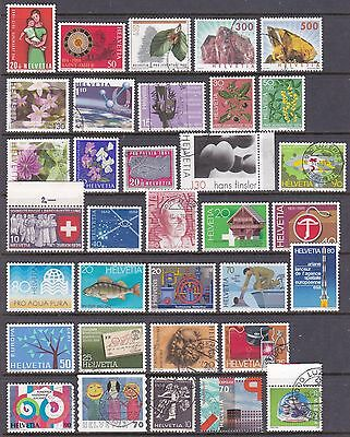 Switzerland Lot 5 Scans Mainly Used Cat £400