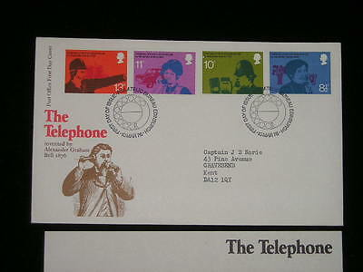 Great Britain The Telephone 1978 First Day Cover