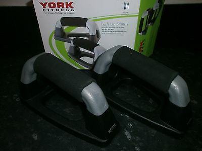 High Quality York Fitness Push Up Stands