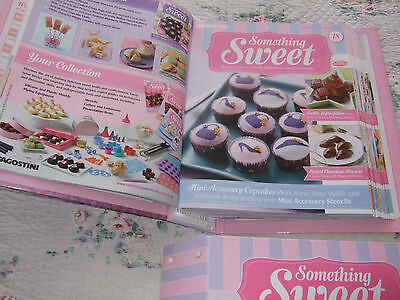 DeAgostinin Something Sweet Magazine Collection with folders and extras