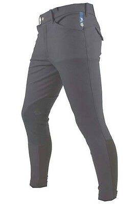 NEW Mens Pessoa by Horseware Breeches in navy