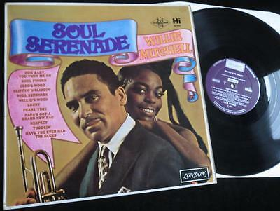 WILLIE MITCHELL LP - Soul Serenade - UK London - Northern Soul Tracks - Vinyl EX