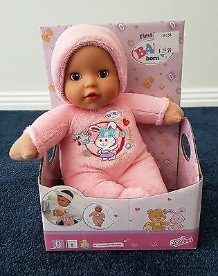 Baby Born My First Love Pink Doll - New Zapf Creations