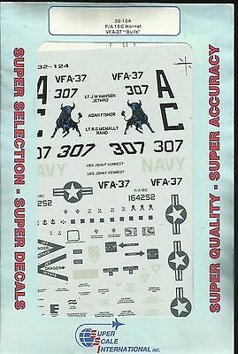 Microscale Superscale 32-124 F/A-18C Hornet decals in 1:32 Scale