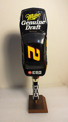 Miller Nascar #2 Rusty Wallace Figural Tap Handle 12""