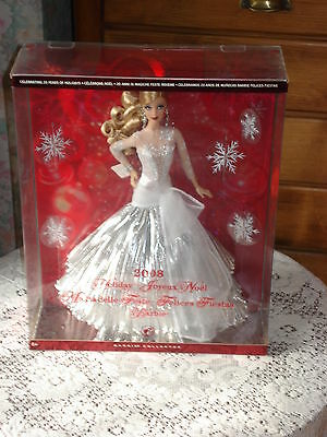 Poupee Barbie Collection Happy Holidays  Annee 2008 Tbeg