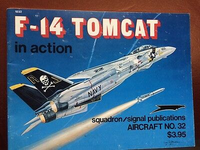 F-14 Tomcat In Action Aircraft Number 32 Squadron Signal Publications