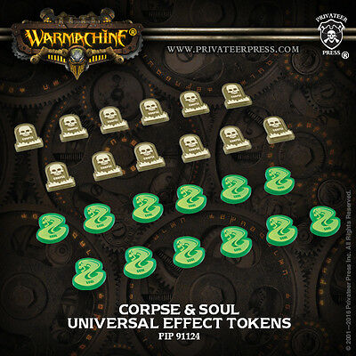 Warmachine & Hordes Universal Corpse & Soul Tokens PIP 91124 Brand New