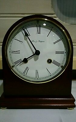 Franz Hermle Mantel Clock Retailed By Fox And Simpson