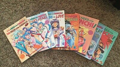 Tenchi Muyo No Need For Tenchi Manga Lot Original Print 1 2 3 5 7 11 12 Harem