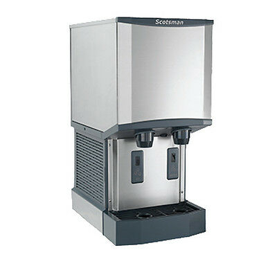 Scotsman HID312A-1 Nugget-Style Meridian Ice Machine/Dispenser - 260 lb Capacity