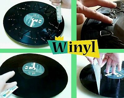 Winyl, Professional Vinyl Record Cleaner, Antistatic Cleaning Gel for LPs + 45s