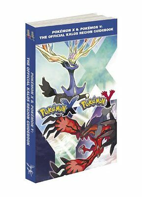 Pokemon X & Pokemon Y The Official Kalos Region Guidebook, Type Chard and Poster