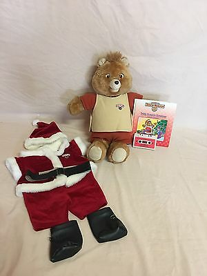 Vintage 1st Generation Teddy Ruxpin W/ Teddy's Christmas Book/tape~works