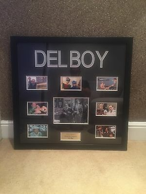 """DELBOY """"Only Fools & Horses"""" David Jason Signed Framed Picture With COA"""