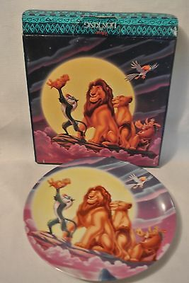 Lion King Plate Made For Disney Theme Parks & Resorts