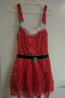 Cute Christmas party dress costume