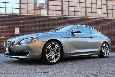 2013 BMW 6-Series Base Coupe 2-Door BEAUTIFUL 2013 BMW 650i xDRIVE COUPE, $102,195 MSRP, WARRANTY!!!